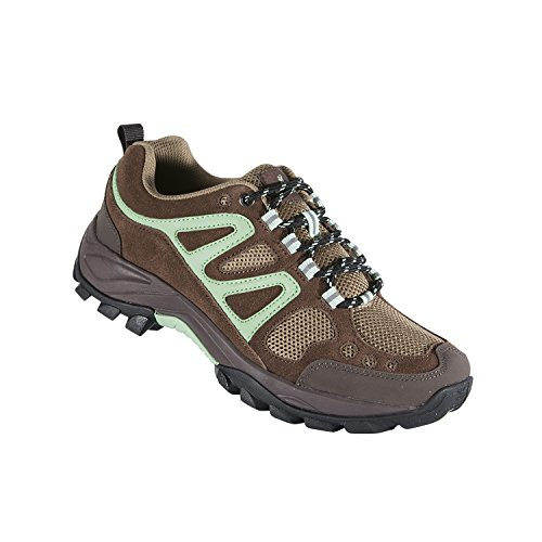Browning Women's Delano Trail Shoes, Potting Soil/Ming, Size 8 ()