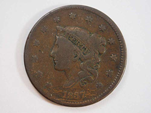 1837 P Coronet Large Cent Large Cents Ungraded