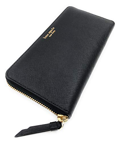 Kate Spade New York Women's Large Continental Wallet Cameron Black
