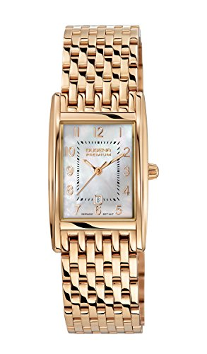 Premium Ladies Watch Quadra Artdeco - Dugena 7090121