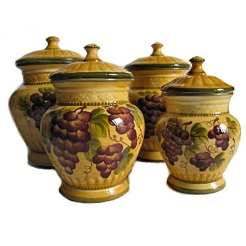 cheap kitchen canister sets ceramic kitchen canister sets amazon com 9964
