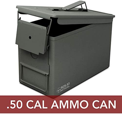 Solid Tactical 50 Cal Ammo Can