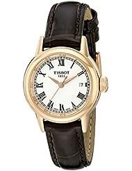 Tissot Womens T0852103601300 Analog Display Swiss Quartz Brown Watch
