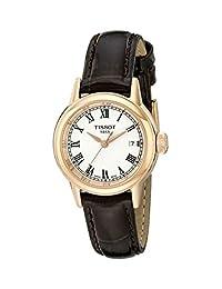 Tissot Women's T0852103601300 Analog Display Swiss Quartz Brown Watch
