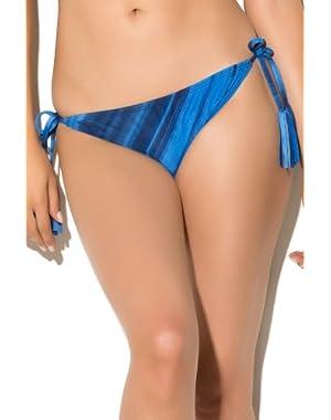 Women's Wild Streak Tie Side Hipster Bikini Bottom