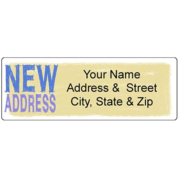 24 Christmas labels stickers return Address with graphic Personalised Gold