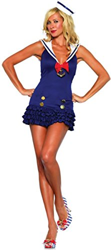 Morris Costumes Women's Sweetheart Sailor, Medium/Large