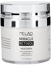 Retinol anti aging Antioxidant Face Moisturizer Revitalizing anti skrynkla grädde kråksparkar rynkor Fine Lines Day och Night Cream