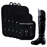 Resinta 4 Pairs (8 Sheets) Boot Shaper Form Inserts Boots Breathable Support for Men and Women, 3 Sizes in 1 Sheet