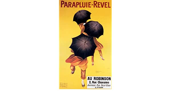 Parapluuie Revel Old French Umberella Advertising poster reproduction