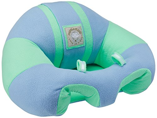 Hugaboo Infant Sitting Chair, Snuggle Buns/Blue/Green, 3-10 Months by Hugaboo