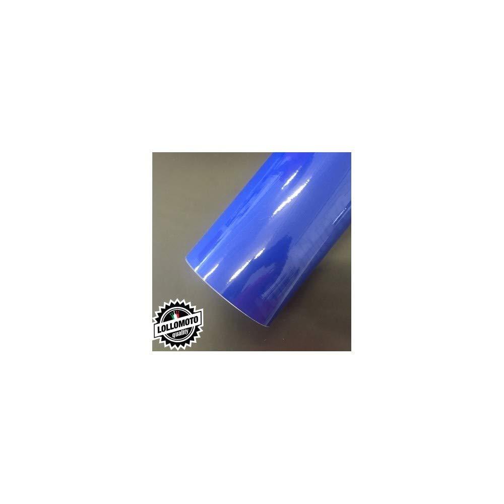 60x50cm Blu Lucido Pellicole Adesiva Rivestimento Auto Car Wrapping