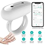 SLEEPON Sleep Monitor, Helps Detect Sleep Abnormalities - Family Sleeping Health Tracker with Heart Rate, Blood Oxygen Saturation, Breathing Tracking and A Real-Time Low Oxygen Alert for iPhone 5 678X
