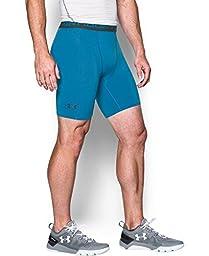 Under Armour Men\'s UA HeatGear Armour Compression Shorts - Mid X-Large BRILLIANT BLUE