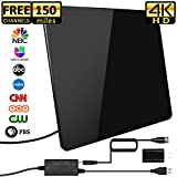 Best Antenna For Tvs - [2019 Newest] HDTV Antenna,Indoor Digital TV Antenna Amplified Review