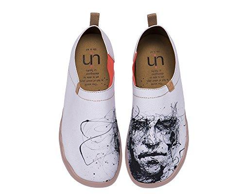 Uin Uomo Bianco Muto Serie Uomo Slip-on Scarpa Colore Bianco