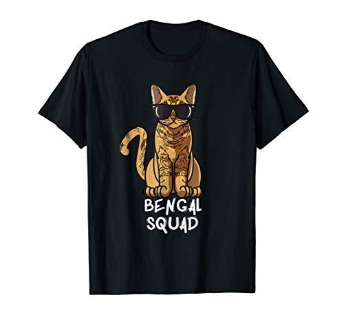 Bengal Squad T-Shirt - Cat Mom Lover Squad Gift Shirt