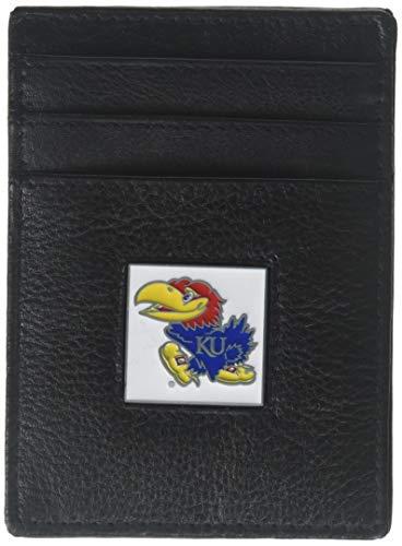 Siskiyou NCAA Kansas Jayhawks Leather Money Clip/Cardholder