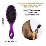 Wet Brush Original Detangler Hair Brush - Purple