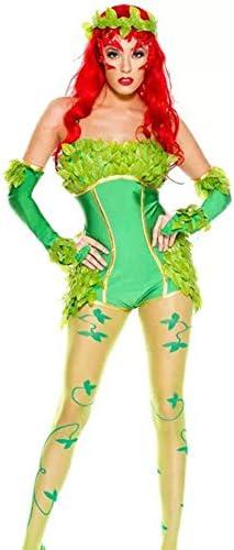 PAOFU-Traje de Hadas,Vestido Verde Elfo del Bosque,Disfraz de ...