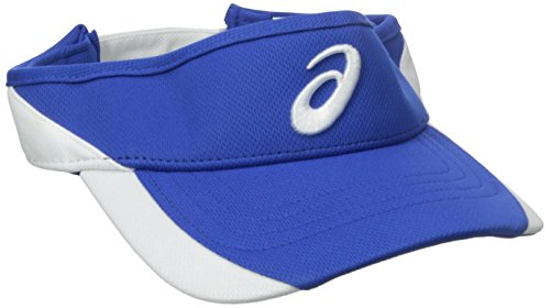 ASICS Golf Team Visor, Royal/White, One Size