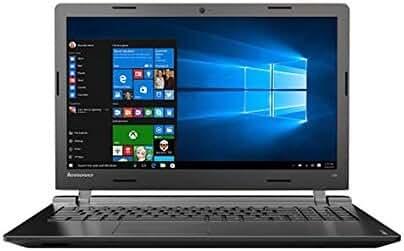 2017 Lenovo IdeaPad 15.6'' High Performance Premium HD Laptop, Intel Dual-Core N3060 Processor, 4GB RAM, 500GB HDD, DVD/CD Burner, HDMI, 802.11AC, Bluetooth, Webcam, Windows 10, Black