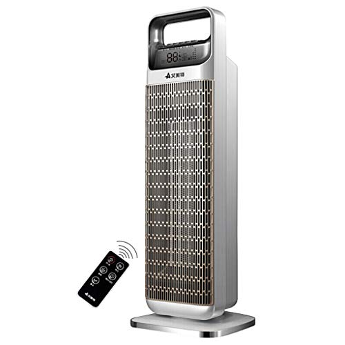 Cheap ZJ Electric Fireplaces Home heater-Electric heater Ceramic Space Heater Oscillating Tower Heater Indoor Use Portable Electric Safe Heater with Remote Control / 2000w && Black Friday & Cyber Monday 2019