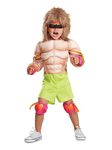 Disguise Ultimate Warrior Infant Muscle Child Costume, Multi Color, (12-18 Months)]()