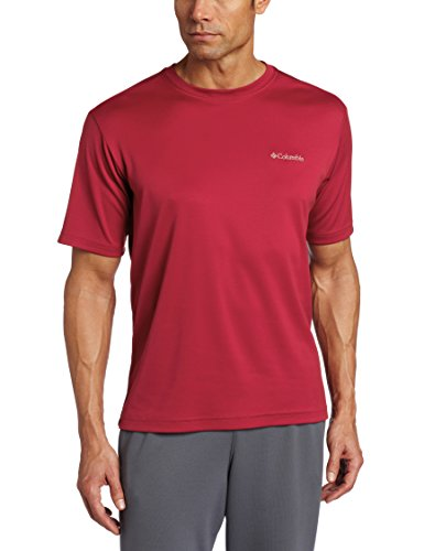 r Peak Short-Sleeve Crew T-Shirt, Red Velvet, XX-Large (Crew Short Sleeve Shorts)