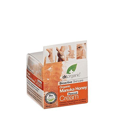Dr Organic Manuka Honey Rescue Cream (Pack of 6) - Dr有機マヌカハニーレスキュークリーム (x6) [並行輸入品]   B01N2JNWXL