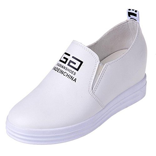 Pompe Flat-sliper Slip-on Da Donna Bianche