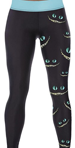 IF FEEL Coloful Skull Fashion Legging BlueItem 3D Digital Print Yoga Pants (one size, as shown) (Stores That Sell Pajamas)