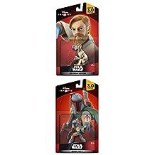 Disney Infinity 3.0 Star Wars Set: Boba Fett + Obi-Wan Kenobi NEW