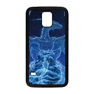 Ed Beard Jr. Winter Spirit Dragon Samsung Galaxy S5 Cell Phone Case Black Exquisite gift (SA_695568)