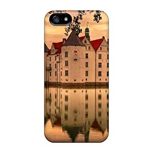 Defender Case For Iphone 5/5s, Magnificent Castle Reflection Hdr Pattern