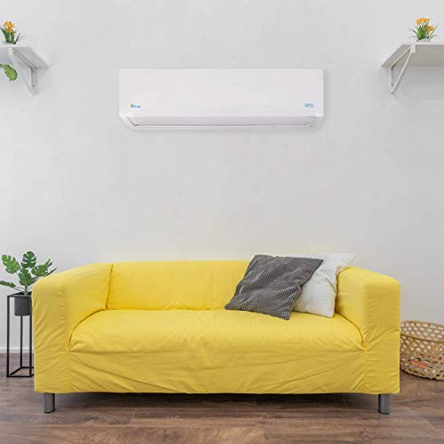 Install a ductless air conditioner and heater