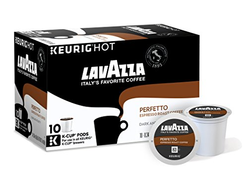 Lavazza Perfetto Coffee, Keurig K-Cups, 60 Count