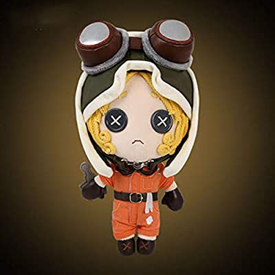 GSOU Snow Game Identity V Survivor Mechanic Tracy Reznik Plush Doll,12.6Inches: Arts, Crafts & Sewing