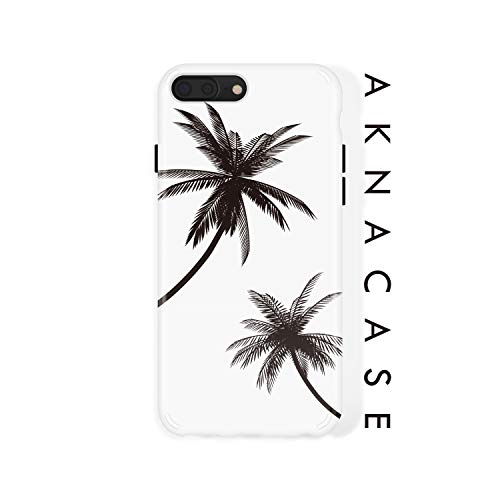 iPhone 8 Plus / 7 Plus case Leaf, Akna Collection Flexible Silicon Cover for Both iPhone 7 Plus & 8 Plus (609-U.S)