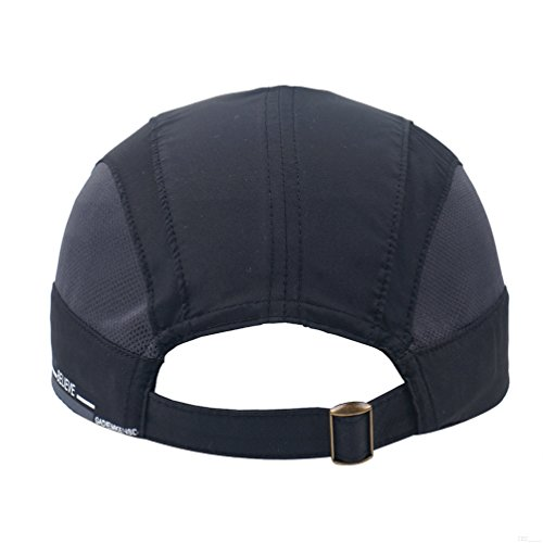GADIEMKENSD Quick Dry Sports Hat Lightweight Breathable Soft Outdoor Run Cap  (Classic Upgrade 09f2325ee55