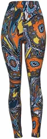 PLUS SIZE Women's Printed Brushed Leggings