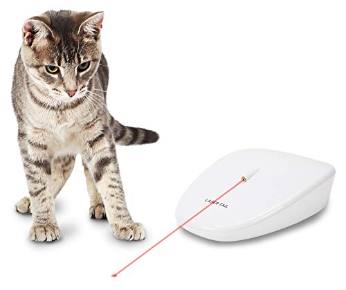 PetSafe Laser Tail Automatic Laser Cat Toy, Fun Laser Light