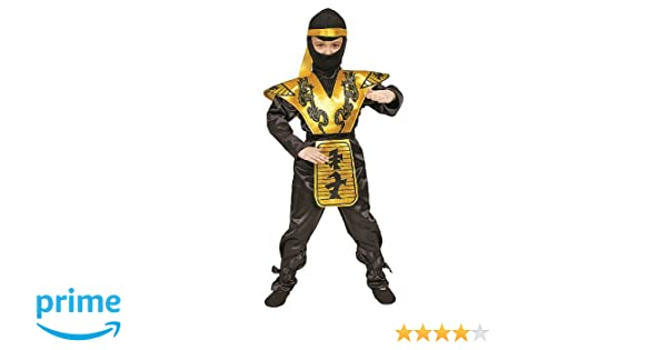 Dress Up America Conjunto de Disfraces Infantililes Ninja