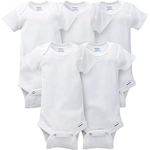Gerber-Baby-5-Pack-Solid-Onesies-Bodysuits