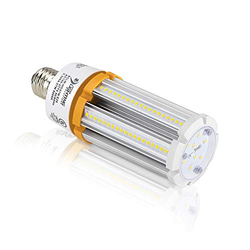 27W LED Corn Light Bulb (100W-150W Metal Halide Equal), 3,915 Lumen, 145lm/W, E26 Medium Base, UL-Listed, 100-277VAC Ballast Bypass (5000K Cool White) ()
