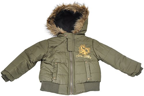 Southpole Toddler Boys Iconic Jacket with hood-(Size 2T-4T)