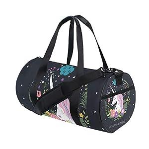 Womens Gym Bag Unicorn Are Real Mens Duffel Bags Duffle Luggage Travel Bag