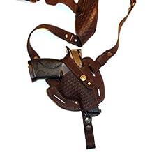 Smith & Wesson M&P Compact, M&P Shield, Sig Sauer P238/P938, Springfield 911, Glock Slimline Series: -36, -43, -42, Colt Defender, Beretta, Shoulder Gun Holster