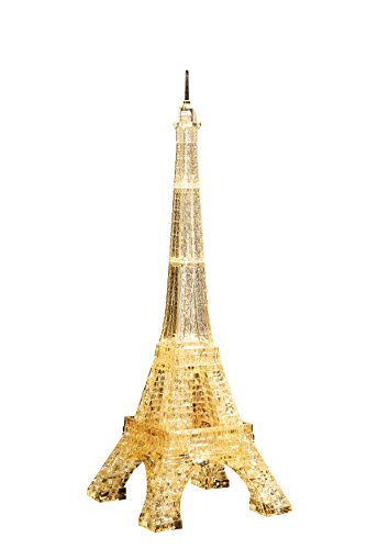 Crystal Puzzle Eiffel Tower Gold by Beverly