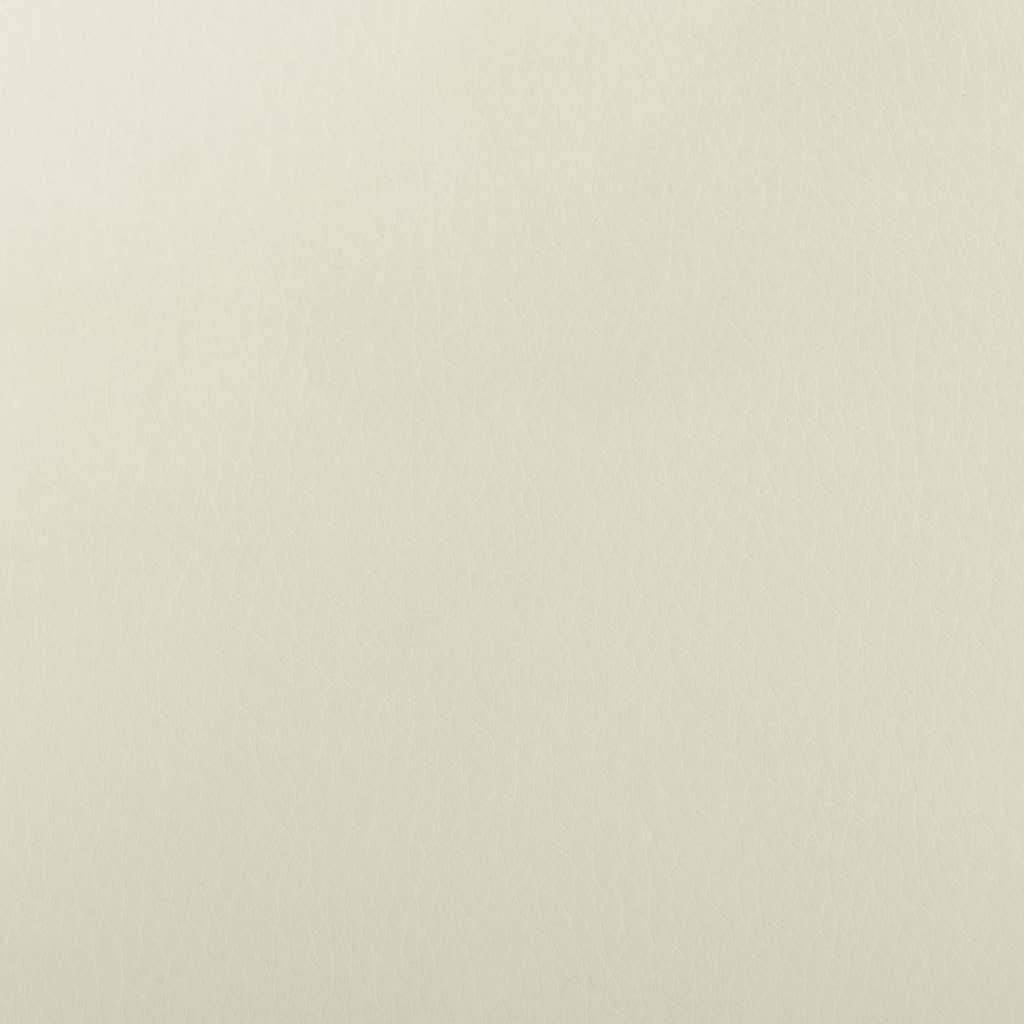 vidaXL Sessel Verstellbare Fu/ßst/ütze R/ückenlehne Fernsehsessel Relaxsessel Ruhesessel Polstersessel Liegesessel TV Wei/ß Kunstleder